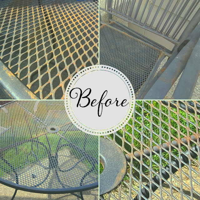 How to Refinish Wrought Iron Patio Furniture | So Much To Make