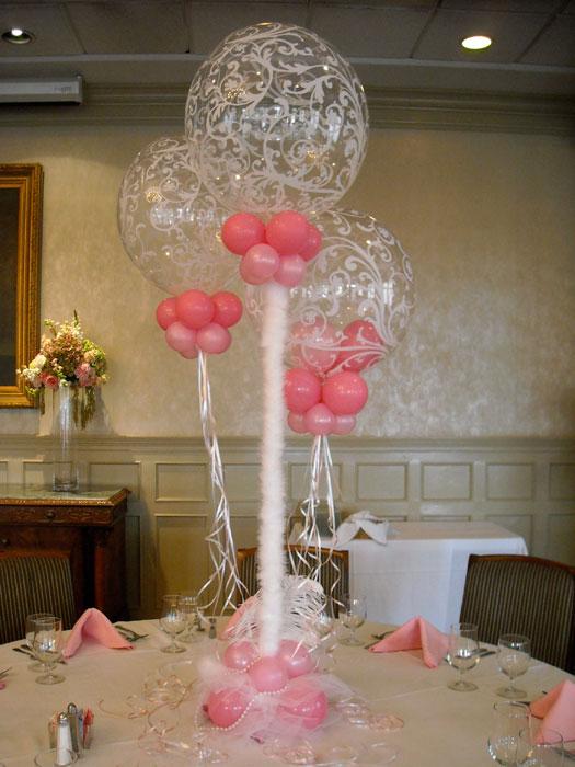 decoracion con globos para bodas