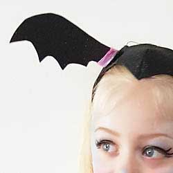 Vampirina headband vampire hair widows peak disney DIY tutorial