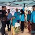 Peringati HUT RI ke 74,YBM PLN UP3 Tasikmalaya Gelar Baksos Bagi bagi Sembako di Bojong Gambir