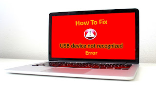 "How to fix the ""USB device not recognized"" error in Windows"