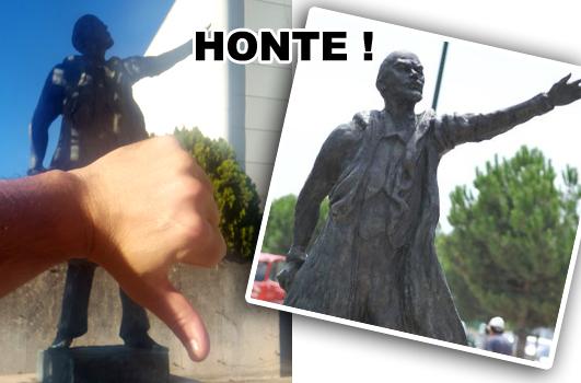 Statue Lenine à Odysseum