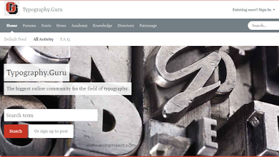 Typography.Guru