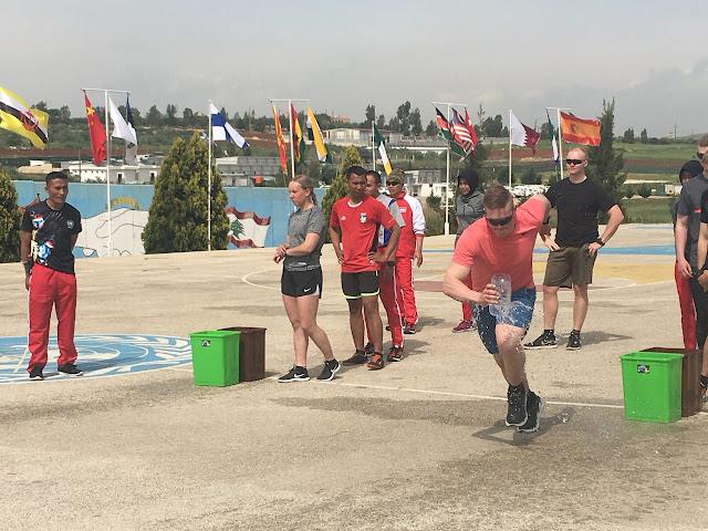 Indobatt Latihan Bersama Peacekeepers Finlandia di Lebanon