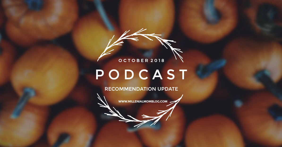Podcasts to listen to this October