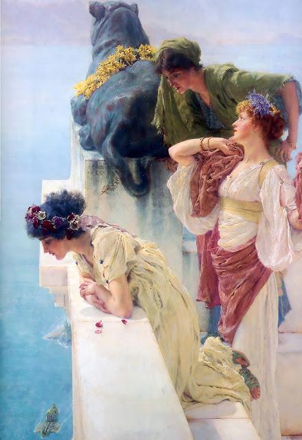 Lawrence Alma-Tadema - Posición de ventaja - 1895