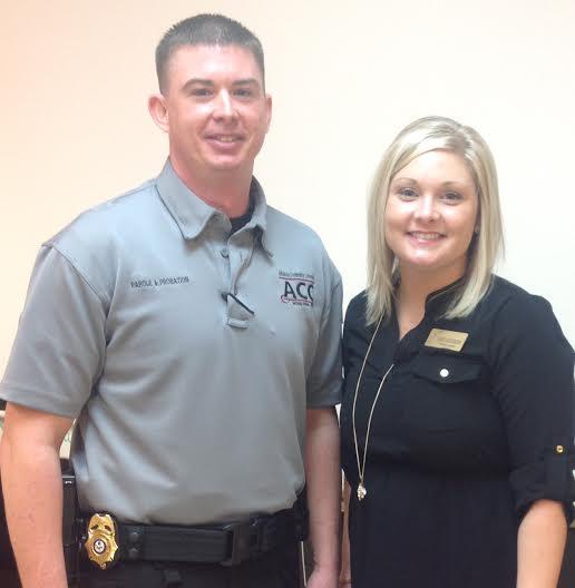 Arkansas Community Correction Home: Schools: Probation And Parole Officer Speaks To Criminal