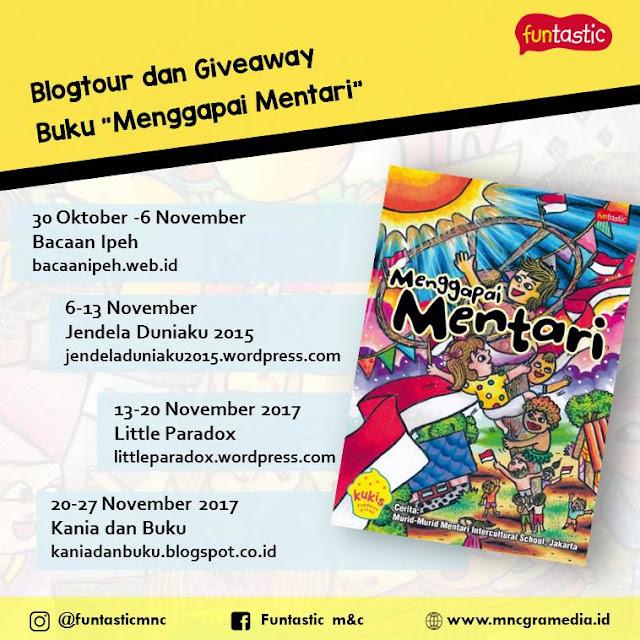 """giveaway Buku Anak """"Menggapai Mentari"""""""