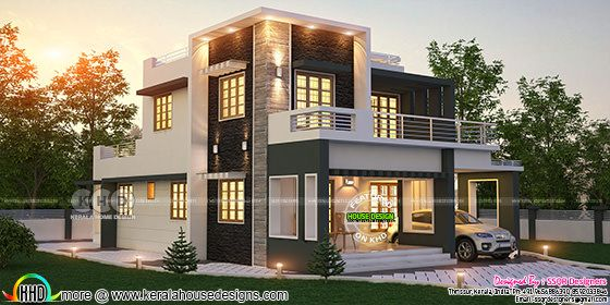 Contemporary home design by SSQR Designers