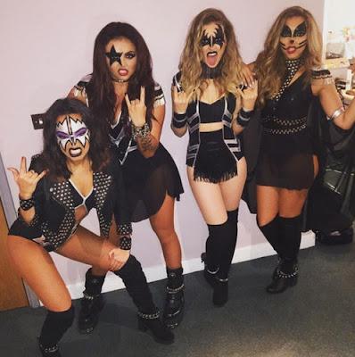 KISS Sexy Ladies Group Halloween Costumes