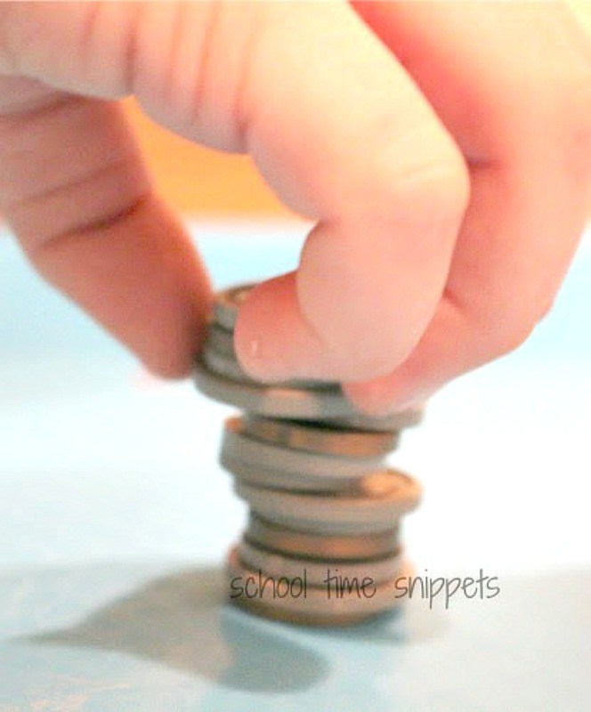 stack the coins money game