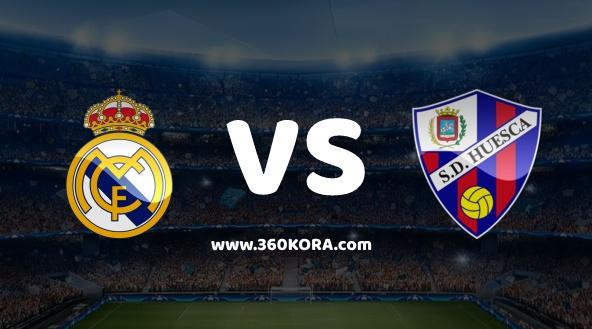 مشاهدة مباراة هويسكا وريال مدريد بث مباشر في الدوري الاسباني