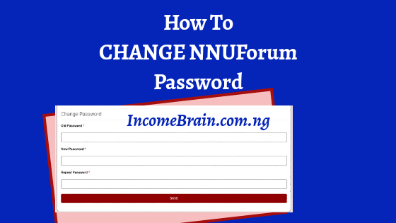 Edit and Change NNUForum Password, Email Address without mistakes