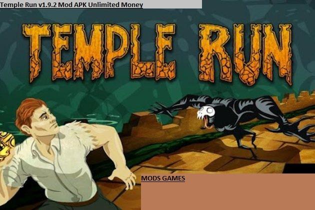 Temple Run v1.9.2 Mod APK Unlimited Money