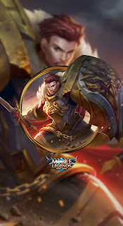 Tigreal Warrior Of Dawn Heroes Tank of Skins Old V3