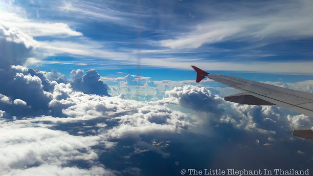 Flying the skies of Thailand with Air Asia