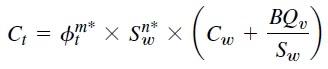 Ecuación de Waxman-Smits