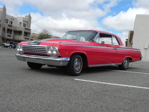 1962 chevrolet impala ss for sale buy american muscle car. Black Bedroom Furniture Sets. Home Design Ideas