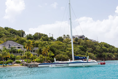 La Caribbean 600 s'élance demain d'Antigua, Franck Cammas au départ