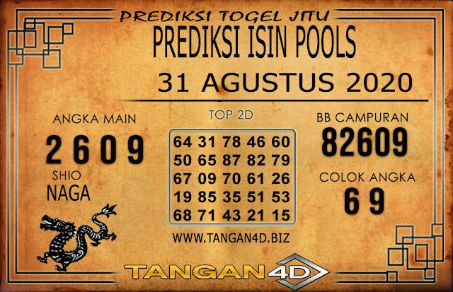 PREDIKSI TOGEL ISIN TANGAN4D 30 AGUSTUS 2020