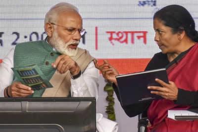 Modi Nirmala Sitharaman