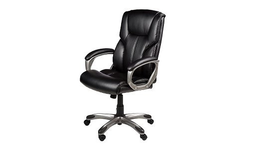 Amazon Basics High Back Executive Office Chair
