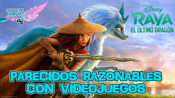 Raya y el último dragón - Parecidos razonables con videojuegos