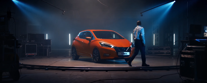 Canzone Nuova Nissan Micra pubblicità disegnato a prima vista - Musica spot Gennaio 2017