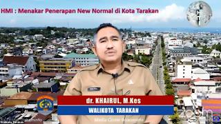 Zoom Meeting Menakar Penerapan New Normal di Kota Tarakan - Tarakan Info
