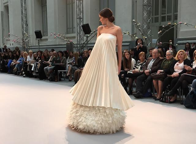 Pasarela Costura España, Palacio Cibeles, Galería de Cristal, Moda Novia, Nupcial, Wedding, Asesoría novias, WeddingStyle, Weddingdress, Weddinglooks
