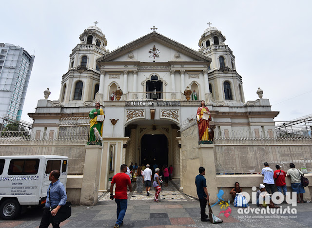 VISITA IGLESIA CHURCH IN MANILA PHILIPPINES