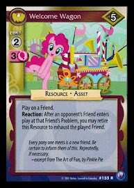 My Little Pony Welcome Wagon Canterlot Nights CCG Card