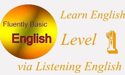 المستوي الاول من كورس تعلم الانجليزية عن طريق الاستماع