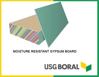 Gypsum ceiling material MR GYPSUM BOARD
