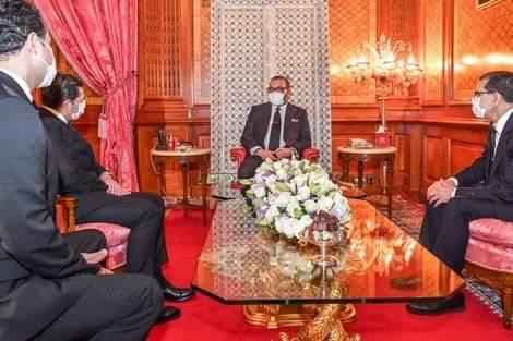 المغرب نهج تحت قيادة  الملك محمد السادس نصره الله استراتيجية هجومية في مواجهة كورونا
