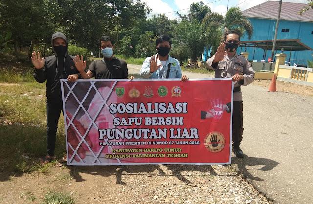 Polsek Patangkep Tutui Gencar Lakukan Sosialisasi Saber Pungli