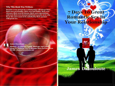 Book  By James Dazouloute - 7 Days To Great Romantic Sex
