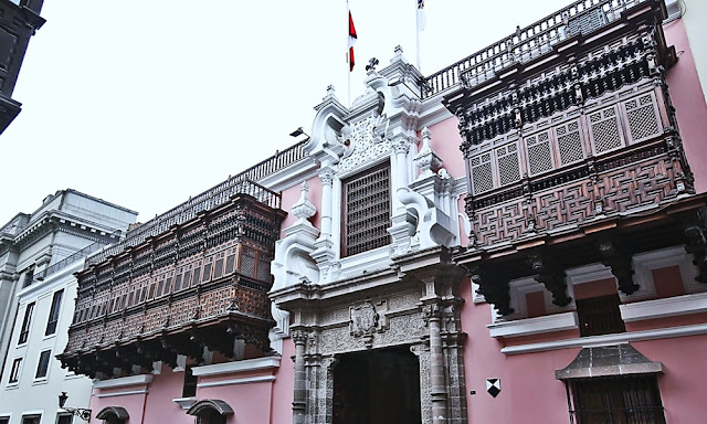 Cancillería peruana