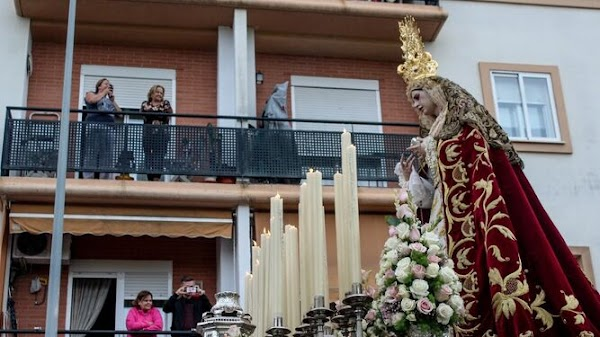 La hermandad de la Sed solicita un rosario de la aurora al Ayuntamiento de Jerez