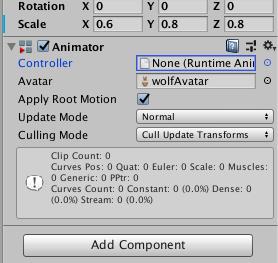 切り絵魔法陣でAR幻獣を召喚する方法(Animatorの設定)