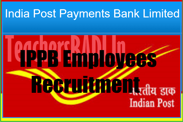 IPPB, India Post Payments Bank,Employees Recruitment