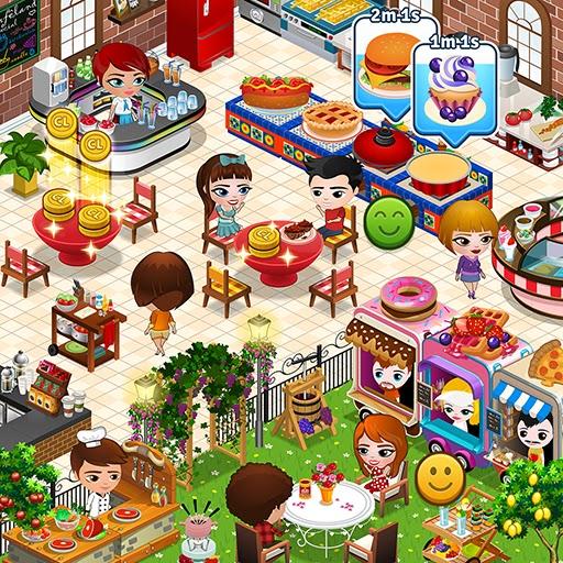 Cafeland - Jogo de Restaurante v2.1.45 Apk Mod [Dinheiro Infinito]