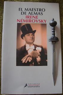 Portada del libro El maestro de almas, de Irène Némirovsky
