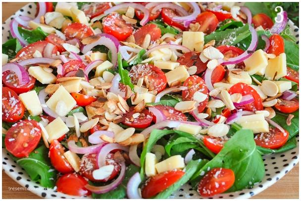 molho para salada de rúcula