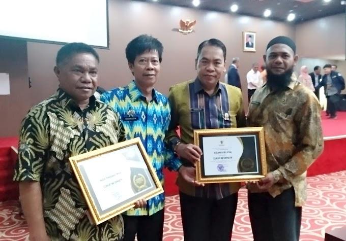 Sulsel Terima Anugrah Keterbukan Info Publik Salah Satu Provinsi Terbaik Dalam Tranparansi Pemerintahan