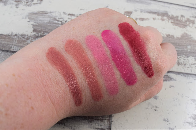 Convertible Color Dual Lip & Cheek Palette in Sunrise Splendor Swatches
