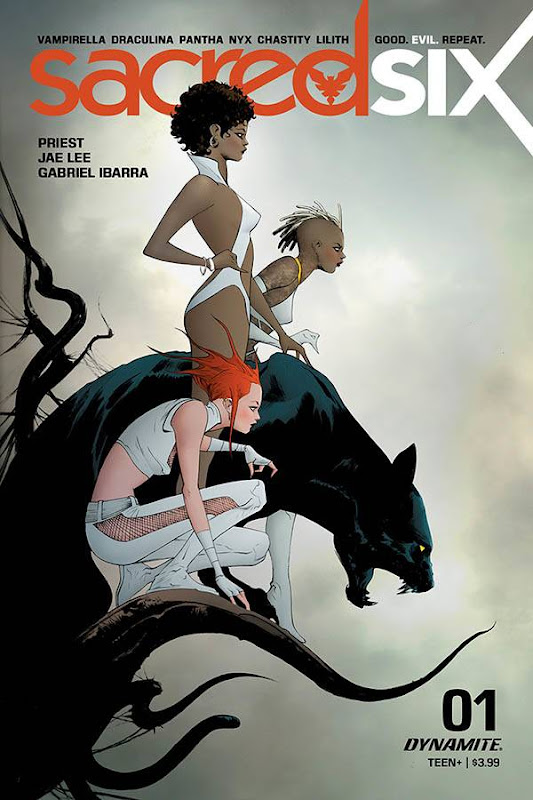Cover of Sacred Six #1