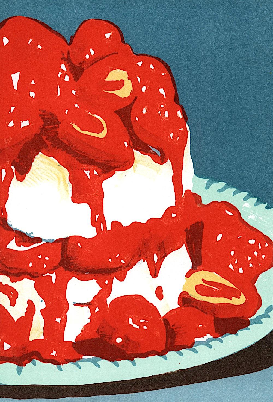 Marcel Van Eeden strawberry shortcake