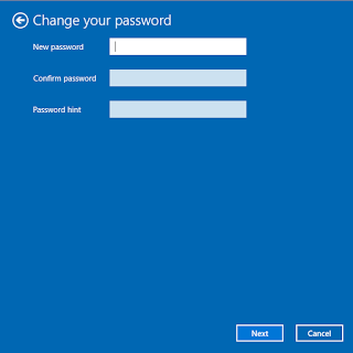 cara setting password baru di laptop