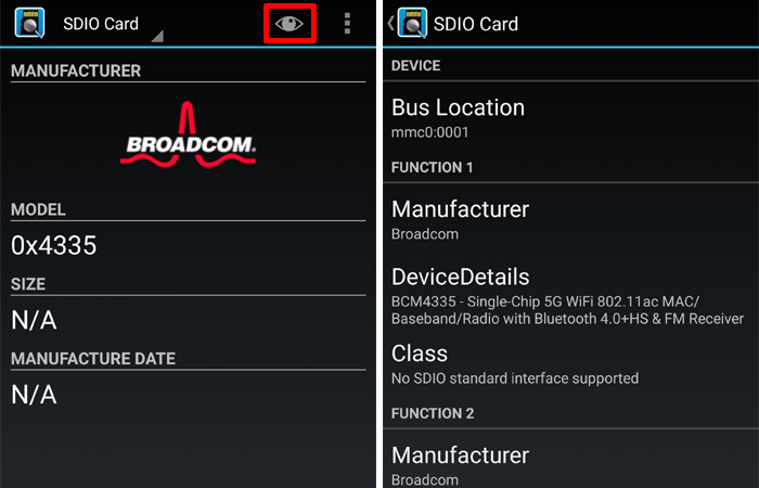 SD InsightでSDIOカード情報を調べる方法